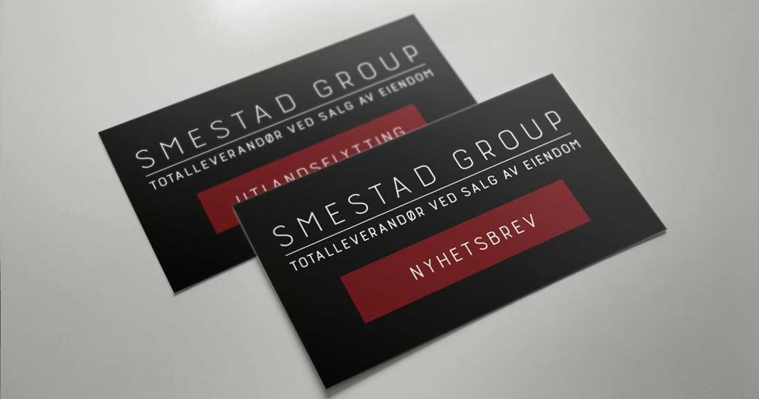 Smestad Group -Totalleverandør ved salg av eiendom. Nyhetsbrev.