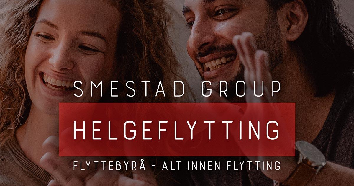 Smestad Group. Helgeflytting
