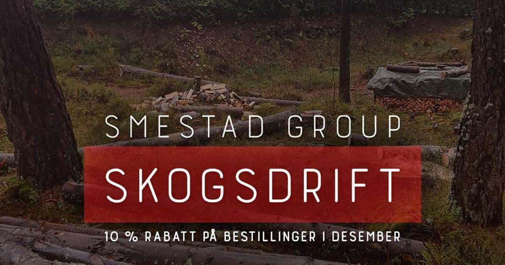 Smestad Group. Skogsdrift